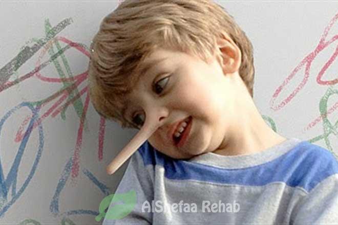 مواجهة الكذب عند الأطفال