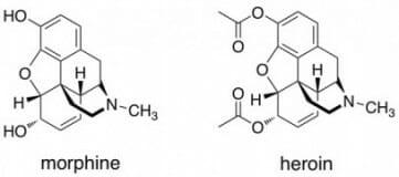 الهيروين تعريفه وتركيبه الكميائي